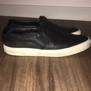Men's Common Projects Perforated Slip On Sneaker